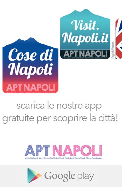 scarica le nostre applicazioni per visitare napoli: disponibili per tutti i dispositivi android, in versione italiana ed inglese, su Google Play store