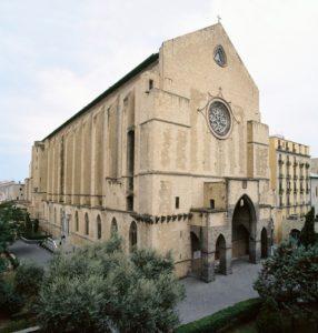 facciata chiesa santa chiara